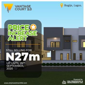Semi Detached Duplex, Bogije, Sangotedo, Ajah, Lagos, Detached Duplex for Sale