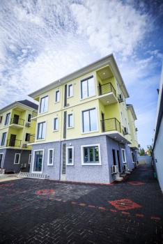 Beautiful Fully Serviced 4 Bedroom Townhouse with 2 Bq, Lekki Phase 1, Lekki, Lagos, Semi-detached Duplex for Sale