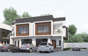 Luxury 4 Bedroom Semi-detached in a Serviced Estate, Ologolo, Lekki, Lagos, Semi-detached Duplex for Sale
