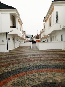 Newly Built 4 Bedroom Duplex with Bq, Second Toll Gate, Lekki Expressway, Lekki, Lagos, Semi-detached Duplex for Rent