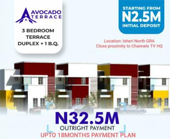3 Bedroom Terrace with Amazing  Facilities, Berger, Arepo, Ogun, Terraced Duplex for Sale