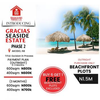 Get a Luxury Beachside 100 % Dry Land with Good Title, Good Proximity to Multi Billion Dollars Projects, Akodo Ise, Ibeju Lekki, Lagos, Mixed-use Land for Sale