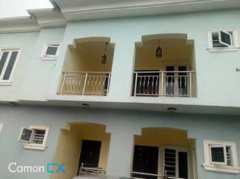 Executive 2 Bedroom Paint House on Interlocked Road, Ado, Ajah, Lagos, Flat for Rent