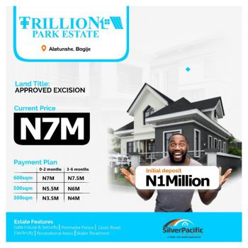 an Affordable Luxury Designed for Class., Trillion Park Estate, Alatise Town, Bogije, Ibeju Lekki, Lagos, Residential Land for Sale