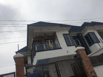 Luxury Spacious 4 Bedroom Duplex with Bq., Circle Mall Road., Osapa, Lekki, Lagos, Semi-detached Duplex for Sale