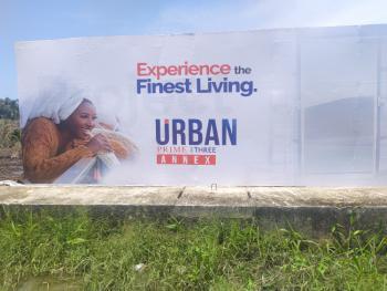 Land, Urban Prime Three Annex, Ogombo, Ajah, Lagos, Residential Land for Sale