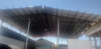 Newly Built Warehouse on Full Plot of Land., Ogunfayo Market., Eputu, Ibeju Lekki, Lagos, Warehouse for Sale