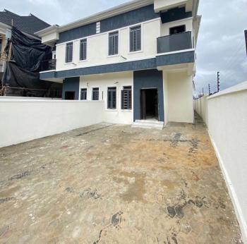Luxury 4 Bedroom with a Bq., 2nd Toll Gate, Lekki Phase 2, Lekki, Lagos, Semi-detached Duplex for Sale