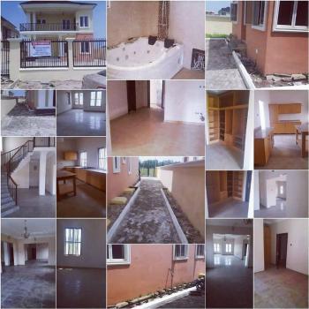 Luxury 5 Bedrooms Detached Duplex, Fountain Springville Estate, Sangotedo, Ajah, Lagos, Detached Duplex for Sale