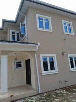 4 Bedrooms Semi-detached Duplex with a Room Bq, Via Fara Park, Sangotedo, Ajah, Lagos, Semi-detached Duplex for Sale