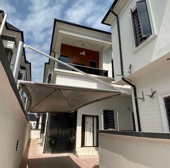 Beautifully Spacious 4 Bedroom Semi Detached Duplex with a Room Bq, Chevron, Lekki, Lagos, Detached Duplex for Sale