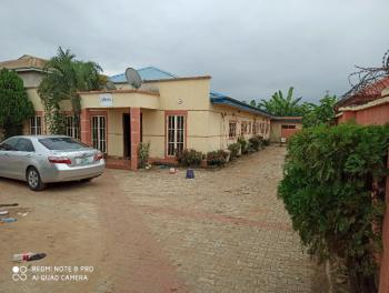 Functional Guest House Containing 7 Rooms, Bar, Reception, Laundry, Bq, Omu Arogun, Mowe Ofada, Ogun, Hotel / Guest House for Sale