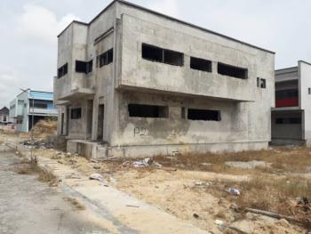 Affordable 4 Bedroom Semi- Detached Carcass Duplex., on Monastery Road, Diamond Estate., Sangotedo, Ajah, Lagos, Semi-detached Duplex for Sale