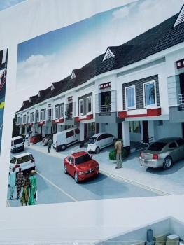 Luxury 3 Bedroom Terraced Duplex with Bq in an Exclusive Estate, Orchid Hotel Road, By 2nd Toll Gate, Lafiaji, Lekki, Lagos, Terraced Duplex for Sale