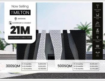 Premium Plot of Land in Prime Location, Beside Coscharis & Greensprings School- Milton Estate, Awoyaya, Ibeju Lekki, Lagos, Residential Land for Sale