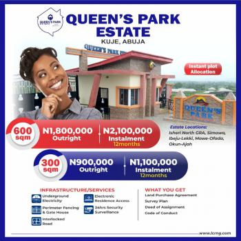 Land, Queens Park Estate, Kuje, Abuja, Residential Land for Sale