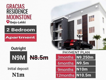 2 Bedroom Apartment with Flexible Payment Plan!!!, Ibeju Lekki, Lagos, Flat for Sale