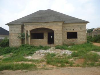 4 Bedroom Penthouse Bungalow Carcass, Lokogoma District, Abuja, Detached Bungalow for Sale