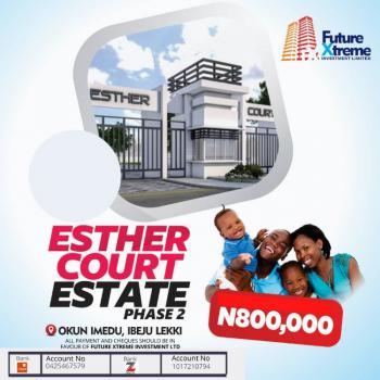 a Land, Esther Court Estate, Along Lekki Free Trade Zone, Okun Imedu, Ibeju Lekki, Lagos, Mixed-use Land for Sale