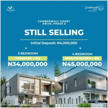 4 Bedroom Semi Detached with Bq, Camberwall Court 2, Abijo, Lekki, Lagos, Semi-detached Duplex for Sale