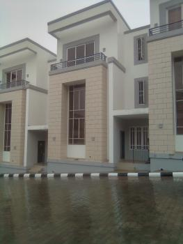 Four (4) Bedrooms Duplex with Bq, Guzape District, Abuja, House for Rent