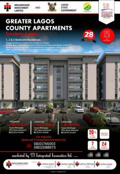 County Apartments:  3 Bedroom Flat, ., Ogunlana, Surulere, Lagos, Block of Flats for Sale