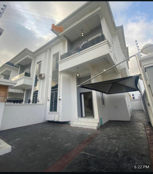 4 Bedroom Semi Detached Duplex, Chevron Lekki Lagos, Lekki Phase 1, Lekki, Lagos, Detached Duplex for Rent