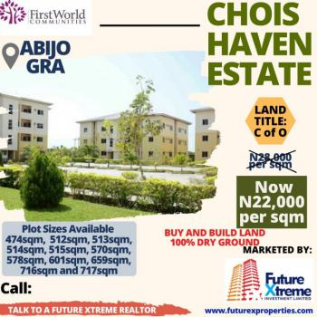 Land with C of O, Abijo Gra, in Chois Haven, Sangotedo, Ajah, Lagos, Residential Land for Sale