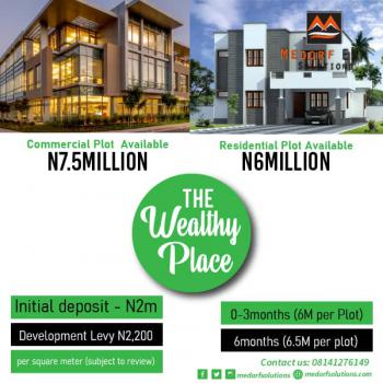 Premium Estate Land in Prime Location - The Wealthy Place, Akodo, Before Dangote Refinery, Directly Facing The Road,, Akodo Ise, Ibeju Lekki, Lagos, Residential Land for Sale