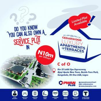 Serviced Plot of Land, Ajayi Apata Estate By Fara Park, Sangotedo, Ajah, Lagos, Mixed-use Land for Sale