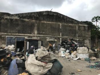 Fenced Acre of Land, Sango Ota, Ogun, Mixed-use Land for Sale