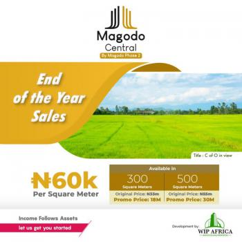 Land, Magodo Central, Within Agiliti Estate, Sharing Fence with Phase 2, Magodo, Lagos, Residential Land for Sale