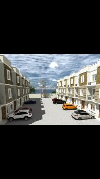12 Units of 4 Bedrooms Terrace Building Newly Built with Bq, Osapa London, Osapa, Lekki, Lagos, Terraced Duplex for Sale