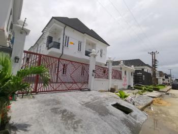 Newly Finished 4 Bedroom Semi Detached Duplex with Bq, Serviced Estate By Chevron, Lekki Expressway, Lekki, Lagos, Semi-detached Duplex for Sale