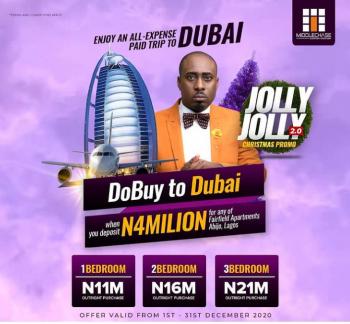 Win an All Expense Paid Trip to Dubai in Jan 2021!, Gra, Abijo, Lekki, Lagos, Flat for Sale