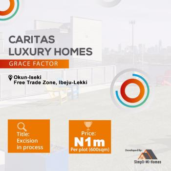Affordable Serviced Residential Land with Good Tittle, Caritas Luxury Homes, Okun Imedu, Ibeju Lekki, Lagos, Residential Land for Sale