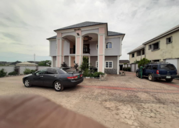 Cute &tastefully Built 4 Bedroom Duplex in a Gated and Secured Estate, Alagbaka Gra, Akure, Ondo, Detached Duplex for Sale