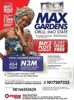 Land, Max Garden, Orlu, Imo, Residential Land for Sale