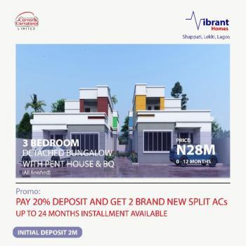 Affordable Off Plan 3 Bedrooms Bungalow with Gazette, Beechwood Estate, Lekki Epe Expressway, Shapati, Ibeju Lekki, Lagos, Mini Flat for Sale