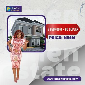 3 Bedrooms Duplex, Amen Estate, Off Lekki-epe, Expressway, Eleko, Ibeju Lekki, Lagos, Semi-detached Duplex for Sale