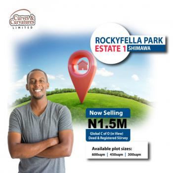 Plots of Land in a Well Develop Enviroment and Well Structured Estate, Close to Rccg, Simawa, Ogun, Residential Land for Sale