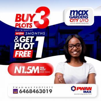 Buy a Plot of Land, Uyo-oron Express Way, Max Gardens City, Uyo, Akwa Ibom, Mixed-use Land for Sale