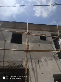 Brand New 3 Bedrooms Duplex Carcass on a Bit More Than Quarter Plot, Peace Estate, Majek Before Abijo, After Shoprite, Sangotedo, Ajah, Lagos, Detached Duplex for Sale