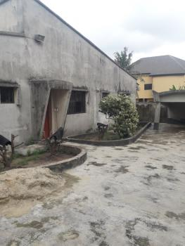 4 Bedrooms Detached Bungalow on 2 Plots of Corner Piece Land, Isanlu Road Ajao Estate, Airport Road, Oke Afa, Isolo, Lagos, Detached Bungalow for Sale