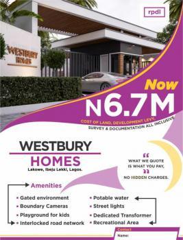 Land, Westbury Homes, Inside Beechwood Estate, Bogije, Ibeju Lekki, Lagos, Residential Land for Sale