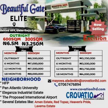Land Available, Beautiful Gate Elite, Eleko, Ibeju Lekki, Lagos, Residential Land for Sale