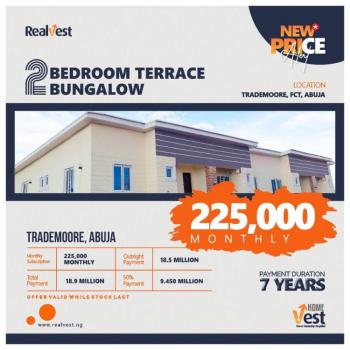 Newly Built 2 Bedroom Terrace Bungalow, Voice of Nigeria, Trademoore Road, Nta Quarters, Lugbe District, Abuja, Terraced Bungalow for Sale