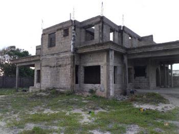 7 Bedrooms Uncompleted Duplex on 1311sqm, Directly Behind Cooplag Gardens, Okun-ajah, Lafiaji, Lekki, Lagos, Detached Duplex for Sale