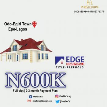 Estate Lands Available, Odo-egiri, Epe, Lagos, Residential Land for Sale