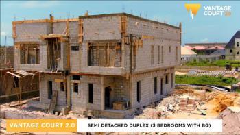 3 Bedroom Semi Detached Duplex with Bq, Close to Beechwood Estate, Bogije, Ibeju Lekki, Lagos, Semi-detached Duplex for Sale